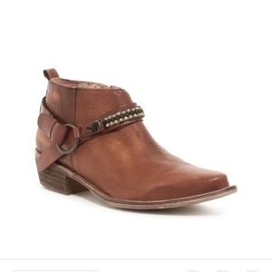 Matisee Leather Ankle Boots